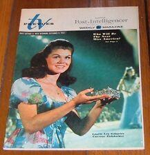 1972 TV GUIDE~MISS AMERICA LAURIE LEA SCHAEFER~LEE MAJORS~LUCIE ARNAZ~ROOM 222~