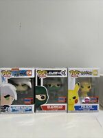 Funko Pop NYCC 2020 Bundle Danny Phantom Angry Pikachu Flocked Beachhead GI Joe