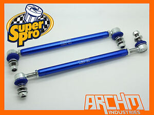 SKODA SUPERB 3T 2WD - 2008-ON FRONT SUPERPRO ADJUSTABLE SWAY BAR LINK KIT
