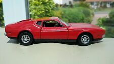 1:43 Red Ford Mustang Mach 1 Perfect Condition Boxed