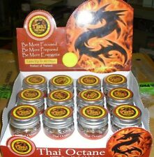 Thai Octane 100% Pure Herbal Inhaler for energy & focus with FREE SHIPPING