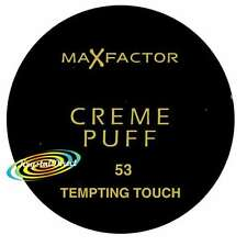 3x Max Factor Creme Puff Powder 53 Tempting Touch 21g