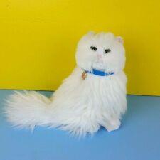 Stuart Little 2 White Plush Snowbell Cat 2002 Hasbro Stuffed Animal Long Hair