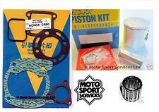 Honda CR 80 92-02 82cc Mitaka Top End Rebuild Kit Piston B Gasket Top Bearing