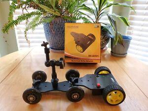Sevenoak DSLR Camera Table Motorized Dolly with 360° inline skate wheel kit 📸