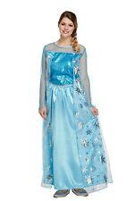 Ladies Adult Elsa Ice Queen Fancy Dress Costume Book Week