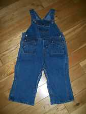Baby Girl's Levis Denim Overall Bibs Jeans Size 24 M  Months