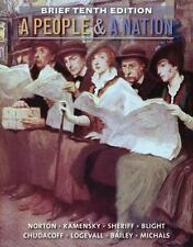A People and a Nation : A History of the United States by Carol Sheriff,...