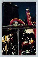 Del Webb's Mint Hotel Casino, Dining, Theater, Las Vegas Nevada Vintage Postcard