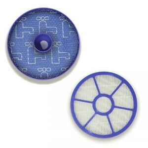 For Dyson DC33 Vacuum Cleaner Washable Pre Filter & Post Motor Kit Set