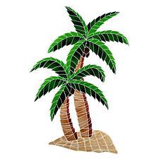 Twin Palms Ceramic Swimming Pool Mosaic
