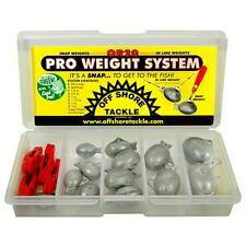 Off Shore OR20 Pro Weight System with Pro Snap Weight Clips & Pro Guppy Weights