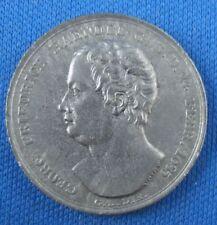 Medaille Eisenguss Eisen Händel zur Heimat der Töne 13.April 1759