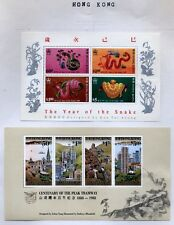 Hong Kong Topical collection Mostly Mint Lightly Hinged on Album pages $225.00