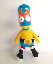 Bart Simpson Wrestling Stuffed Plush Soft Toy Matt Groening The Simpsons Cartoon