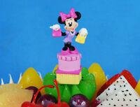Disney Figure Model Minnie Mouse Gift Cake Topper Decoration K1099_B