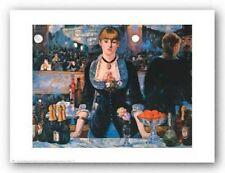 RESTAURANT ART PRINT Bar at the Folies Bergere Edouard Manet 30x24