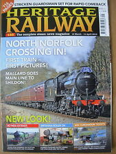 HERITAGE RAILWAY THE COMPLETE STEAM NEWS MAGAZINE ISSUE 135 MARCH 18 2012