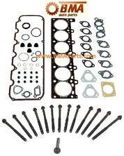 BMW E30 E28 M20 325E 528E Head Gasket Set with Head Bolt Set for 84 85 86 -