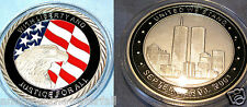 9/11 Coin Silver Eagle September 11th 911 New York City United we Stand Man USA