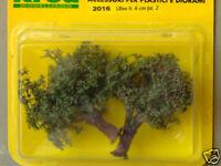 Alberi di ulivi per plastico o diorama pz.2  h.cm. 6  - Krea Modellismo 2016