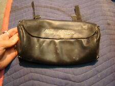 EP12289 leather Harley tool bag luggage sissy bar pouch