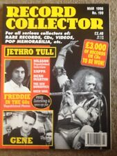 Record Collector - March 1996 - No. 199 - FREDDIE MERCURY (60s) - See details