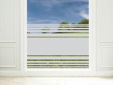 Sichtschutzfolie Streifen oben unten Fensterfolie Glasdekorfolie Dusche Glastür