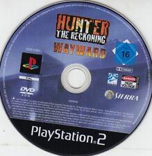 Hunter The Reckoning Wayward  (PS2) Einzelne CD, minimale Gebrauchsspuren