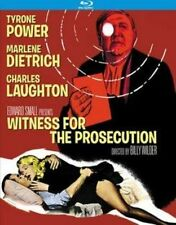 Witness for The Prosecution 0738329132620 With Tyrone Power Blu-ray Region a