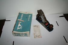 Vintage Record No 4 Bench Plane, boxed with instructions.