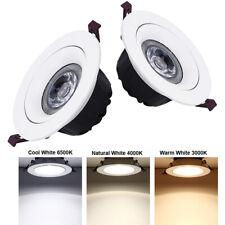 5W 7W 9W 12W 15W COB Led Downlight Recessed Ceiling Lamp Light Spotlight 220V