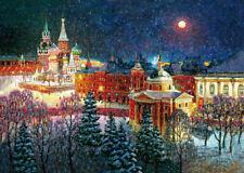Wooden Jigsaw Puzzle DaVICI Sorceress the winter 140 pcs Artist Igor Razzhivin