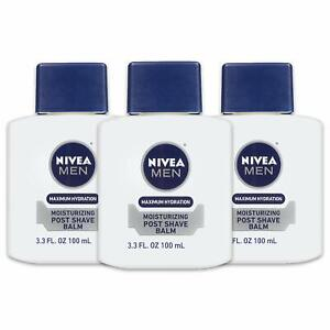 NIVEA Men Maximum Hydration Moisturizing Post Shave Balm - No Greasy Feel -
