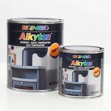DUPLI COLOR 344510 DC Alkyton 750 ml Hitzebeständig bis  750°C  schwarz Lack