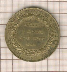 Suisse 50 ème anniversaire de la réunion de Genève à la Suiise 1814-1864