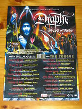 DRAPHT - THE LIFE OF RILEY Australian Tour - Laminated Promotional Poster