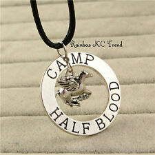 Percy Jackson Camp Half Blood Necklace Men's Boy's Necklace Birthday Gift C1