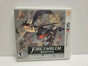 Fire Emblem Awakening (Nintendo 3DS) Original Case & Manual Only