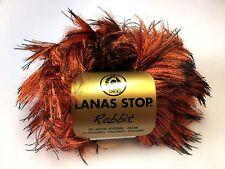 10 Stü. Lanas Stop RABBIT Farbe* 346 Luxuswolle 10*50 Gra. Garn Wolle Pelz new