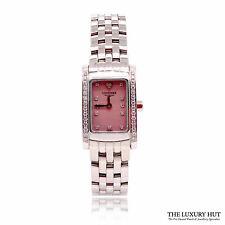 LONGINES DOLCE VITA PINK DIAMOND SET WATCH REF: L5.1580