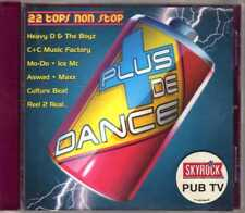 Compilation - Plus De Dance Volume 1 - CD - 1994 - Eurodance Versailles France