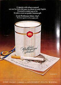 Original Vintage 1970s Louis Rothman Advert - Shooting Times Magazine 9 Oct 1972