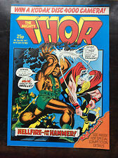 THE MIGHTY THOR COMIC. NO 14. 20 JULY 1983. NR MINT. UNREAD. UK MARVEL COMIC. (1