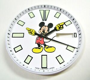 NEW SET OF MODIFIED DIAL, HANDS AND CHAPTER RING FOR 6309 DIVERS MICKEY MOUSE!