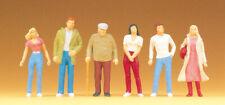 "Preiser 68203 Scale 1:50 Figurines "" Pedestrians "",Hand Painted # New Original"