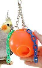 1437 Bonka Bird Toys Small Jolly Ball Parrot Cockatiel cage swing hut center