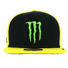 Valentino Rossi VR46 Moto GP Monster Energy Sponsor Flat Peak Cap Official 2017