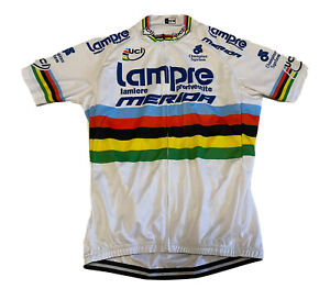 Cycling UCI Lampre Merida Champion System Jersey Size-XL NLV