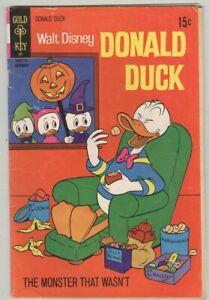 Donald Duck #140 November 1971 G/VG Halloween cover